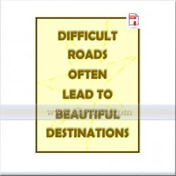 Трудните пътища често водят до красиви места